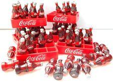 Lot 120 bottles & 10 tray coke coca cola bottle dollhouse miniature collectible