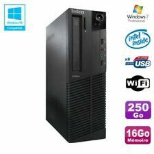 PC de bureau Lenovo avec windows 7