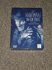 THE NIGHTMARE ON ELM STREET : 1 to 6 DVD COLLECTION BOXSET IN VGC (FREE UK P&P)