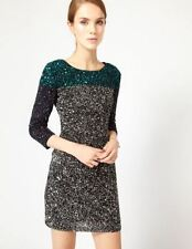 French Connection Spiegal Sequin Colorblock Tunic Dress - PERFECT NYE dress!!