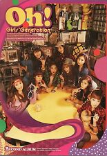 Girls Generation (SNSD)  Oh! 2nd Album Autographed  of Tiffany K-pop