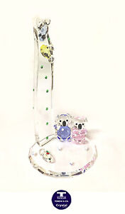 "[NEW] ""Beach Side Koalas"" Austrian Crystal Figurine"