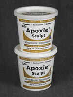 TAXIDERMY& MODELLING GENUINE AVES APOXIE SCULPT NATURAL* 4lb *