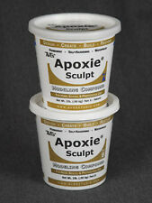 TAXIDERMY& MODELLING GENUINE AVES APOXIE SCULPT WHITE * 4lb *
