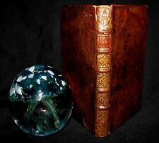 1698 Antique French Book ~ NOSTRADAMUS Propheties RARE Lyon Michel de Nostredame