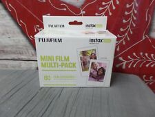 Fujifilm Instax Mini Instant Film Pack 60 Exposure New Old Stock see description