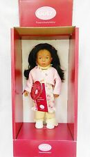 "15"" Ariane Gotz Sylvia Natterer Artist Collection dark skin Doll German #'d NIB"