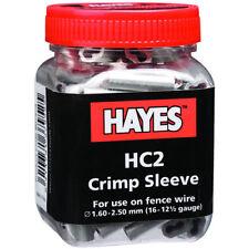 Hayes - HC2 Crimp, 16 - 12 1/2 ga., long 100/PK