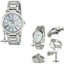 Vivienne Westwood Mother Orb VV006PSLSL White Dial Ladies Watch