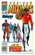 NEW MUTANTS #99(3/91)'1st FERAL+SHATTERSTAR+2nd GIDEON(CABLE)CGC IT(NEWSSTAND)NM
