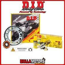 375847000 KIT CATENA CORONA PIGNONE DID DERBI CROSS CITY 4T 2008- 125CC