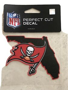 NEW 4X4 TAMPA BAY BUCCANEERS PERFECT CUT DECAL WINCRAFT