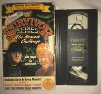WWF Survivor Series '91 (VHS, 1991) WWE WCW NWO COLISEUM VIDEO HULK HOGAN RARE