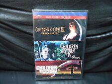 Children of the Corn - III, IV, V (DVD, Widescreen, 2011) Triple Feature