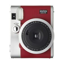 Fujifilm Instax Mini 90 Red - PRO Camera Bundle - Camera, Case , Film & Album