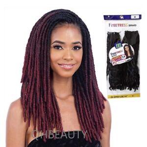 FREETRESS SYNTHETIC HAIR PRE LOOPED CROCHET BRAID 2X GYPSY LOCS 14
