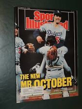 1988 Sports Illustrated Los Angeles Dodgers World Series **FREE SHIPPING**