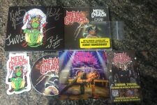Metal Church Classic Live CD AUTOGRAPHED w/ guitar pick stickers stage pass card