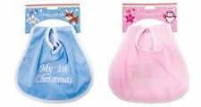 Christmas Baby Bibs & Burp Cloths