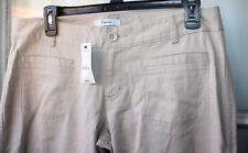 New Express Pants Womens size 10 Trouser Brown Beige Retail $49   --PPX