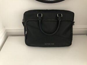 Tommy Hilfiger Bag, Laptop, Messenger Black, DAMAGED
