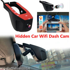 Car DVR HD 1080P Hidden Wifi Stealth Camera Video Recorder Dash Cam Night Vision
