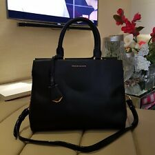 Charles & Keith Top Handle Bag - Black