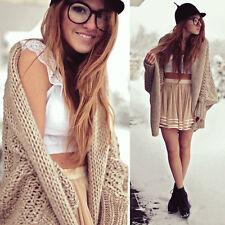 Fashion Women Loose Batwing Knitting Long Sleeve Cardigan Sweater Winter Warm