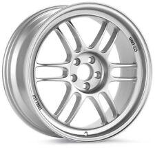 Enkei RPF1 17x7.5 5x114.3 +48mm Offset 73mm Bore Silver Wheel 379-775-6548SP