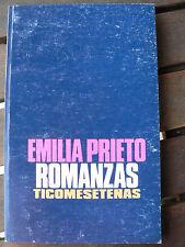 Emilia PRIETO - Romanzas ticomesetenas