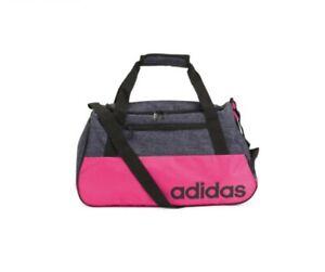 adidas Core Squad Duffel Gym Sports Bag Shock Pink