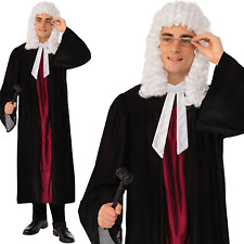 Adult Mens Judge Cloak Gown Fancy Dress Costume High Court New Stag Barrister