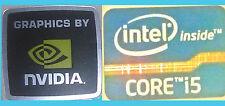 NUOVO INTEL INSIDE Core i5 + NVIDIA computer Windows 8 Adesivo PC 10 ORIGINALE 7