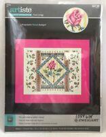 2015 NIP Counted Cross Stitch Embroidery Kit Rose Collage 14x11 Needlecraft 2429