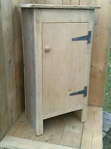 Single Door Cupboard in Reclaimed Pine