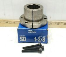 "New Martin Quick Disconnect Bushing Sd 1 3/8"" Bore 3 3/16"" Od 5/16"" Keyway"