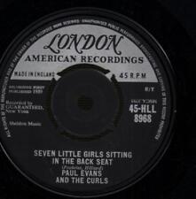 "Paul Evans(2nd State 7"" Vinyl)Seven Little Girls Sitting / Worshipping -Ex/VG+"