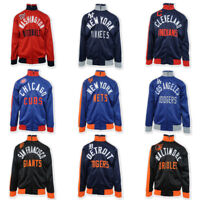 G-III Sports by Carl Banks Men's MLB Racer Turtle Neck Zip Sweater (Retail $99)