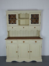 Painted Solid Pine Kitchen Welsh Dresser Annie Sloan Cream E121603 FREE DELIVERY