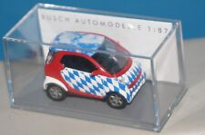 """BOX22] Busch 46188 Smart Fortwo """" Bayern """", 1 87 Sealed"""