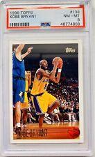1996 Topps Kobe Bryant #138 NM Mint PSA 8 RC Rookie Clean Fresh Grade
