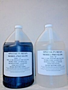 MODEL-PRO SLOW 6 MINUTE CASTING RESIN 1 GALLON KIT