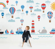 Kids Removable Vinyl Wall Stickers for Boy Big Ocean