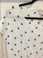 NWT Anthropologie Ella Moss Bumble Bee Top Small