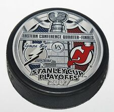 07 Tampa Bay Lightning New Jersey Devils Eastern Conference Quarter Finals Puck