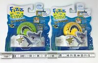 Wild Planet Fizz n Surprise Fizz It! SHARK LOT X2 water fizzies sharks white NEW