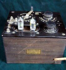 Beautiful 1920s RCA Radiola III 3 Regenerative Radio Untested