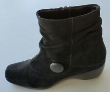"Andrew Geiier Black ankle Boots ""Magnolia "" size 10 M"