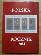 Polen Jahrbuch Year Book 1984 gestempelt in deutscher Sprache Auflage 1500 Stück