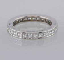 Cartier Platinum 1.62 Carat Diamond Full Eternity Ring Size K (EU 50)